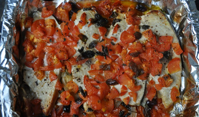 Baked Swordfish – 1,2,3,4,5 Once I caught a fish alive